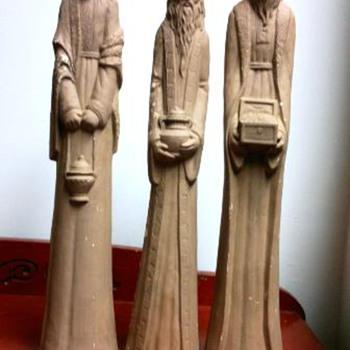 Three  Wisemen   Figures