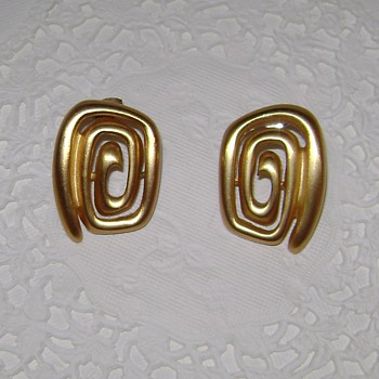 Anne Klein Earrings - Costume Jewelry
