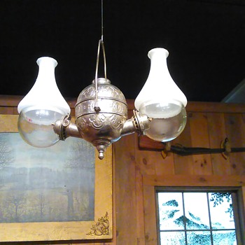 Double Wick hanging Lantern