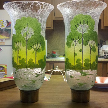 Art glass light shades! - Art Glass