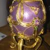 House of Faberge Franklin Mint Sterling Egg