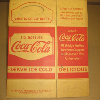 Another Coke Cardboard - Coca-Cola