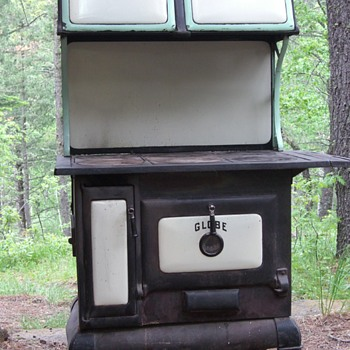 Wood burning stove from our cabin