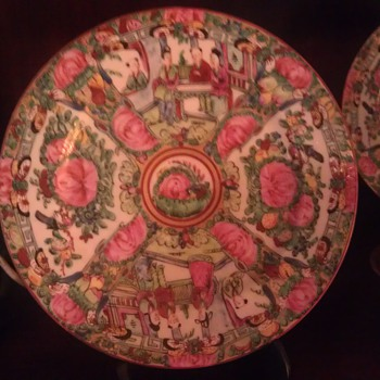 qianlong nian zhi dinnerware - Asian