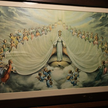 Mary: Queen of the Angels! - Visual Art