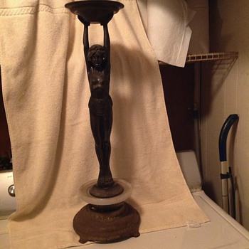 Art Deco ashtray stand - Art Deco