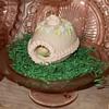 Vintage Diorama Sugar Easter Egg