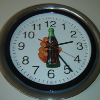 Gone  Coca-Cola  Clock  Crazy!! - Coca-Cola