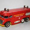 firetruck wind up tin toy joustra