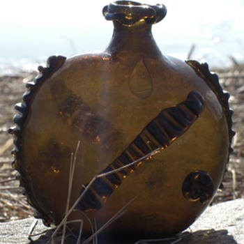 Antique flask