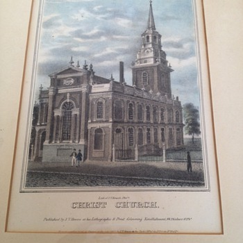 1840 First Edition Lithograph by J.T. Bowen (Philadelphia)