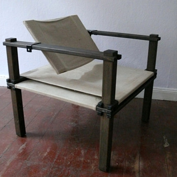 "Gerd Lange  - ""Farmer chair "" -  Bofinger  -  designed 1965"