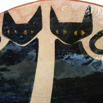 Here Kitty Kitty - Art Pottery