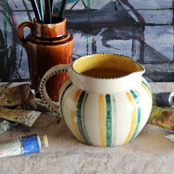 Scottish Pottery Handpainted Jug mystery