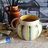Scottish Pottery Handpainted Jug mystery