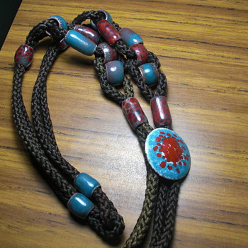 Cowboy tie bolo, hatband or necklace? - Costume Jewelry