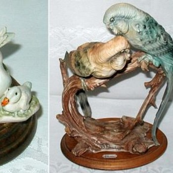 Armani Animal Figurines, More of My Collection - Figurines