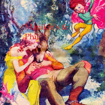 A print Shakespeare's A Midsummer's Nights Dream by Willy Pogamy