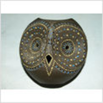 Pottery Owl Unknown Signature/ Hyroglyphs? - Art Pottery