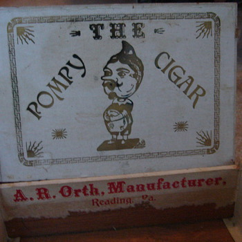 Old Pompy Cigar Box? - Tobacciana