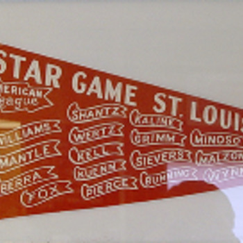 1957 All Star Game American League (St. Louis) - Baseball