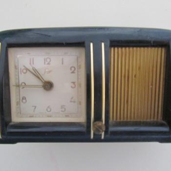 Gebr Staiger Music Alarm Clock - Clocks