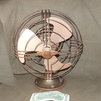 "Tale of Two Fans GE Vortalex FMNV 9"" Fan 1942-1945"