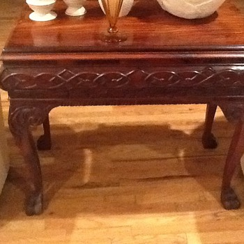 Rosewood table - Furniture