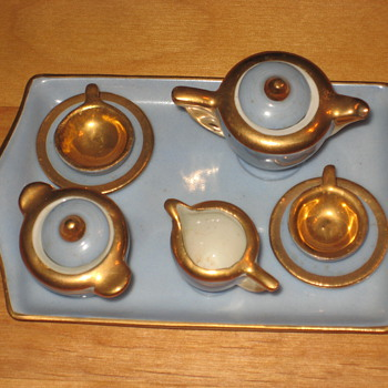 Mini Tea set - Art Pottery