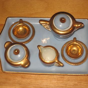 Mini Tea set - Art Pottery