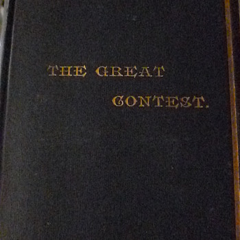 I LOVE THIS BOOK 1886 THE GREAT CONTEST A HISTORY OF MILITARY AND NAVAL OPERATIONS DURING THE CIVIL WAR  - Books
