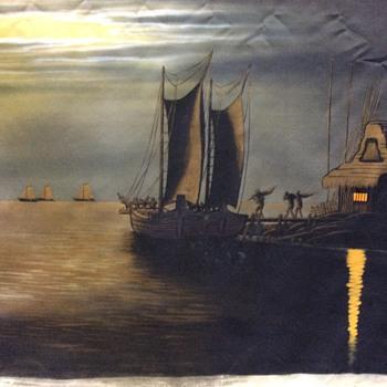 oriental painting - Visual Art