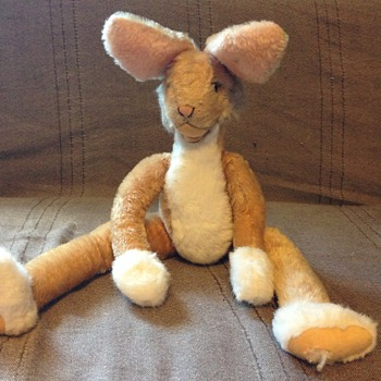 Steiff Lulac Rabbit, Light Brown  3141/43