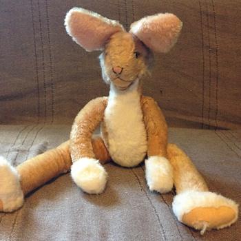 Steiff Lulac Rabbit, Light Brown  3141/43