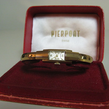Pierpont Antique Watch in original case