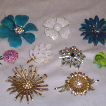 Bracelets, Brooches and Earrings oh my! - Costume Jewelry