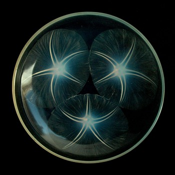 french art deco bowl VOLUBIS by RENE LALIQUE