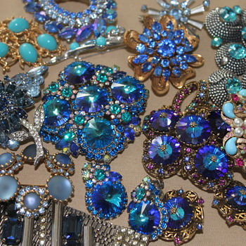 Blue Collection - Costume Jewelry