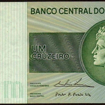 Brazil - (1) Cruzeiro Bank Note