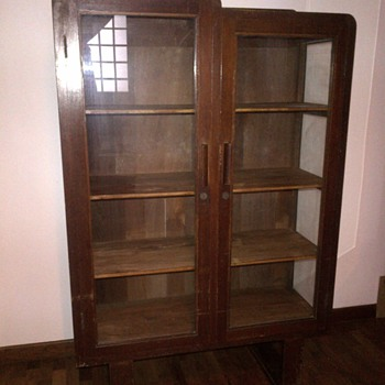 My Latest Treasure - Art Deco U-Leg Display Cabinet