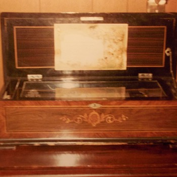 Stolen Antique Music Box