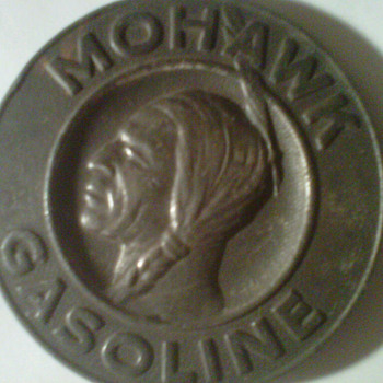 Mohawk Gasoline Artifact - Native American