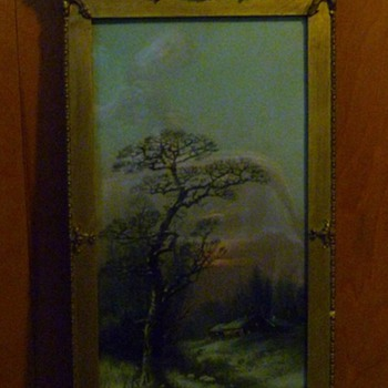 Very Old Painting in Ornate Frame