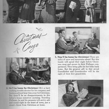 1948 - Pullman Traincars Advertisement