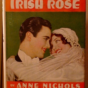 """Happy St. Patrick's Day!"" Anne Nichols ""Abie's Irish Rose"" 1st Edition 1927  - Books"