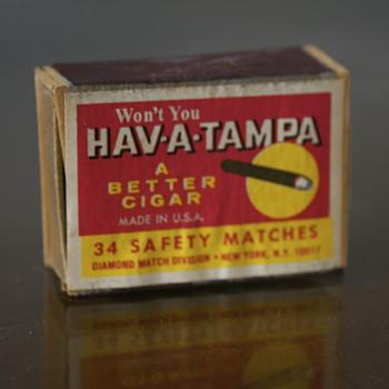 Hav-A-Tampa Matchbox - Tobacciana