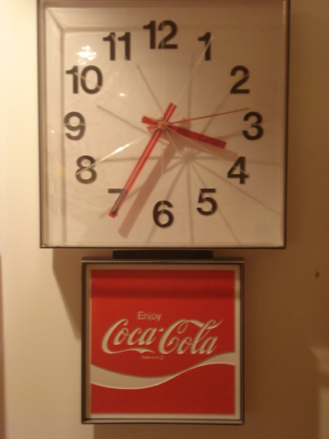60 S Coca Cola Wall Clock Collectors Weekly