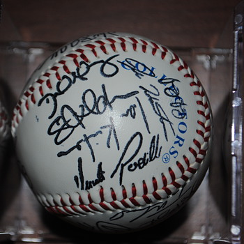 Baseball with Unknown Autographs