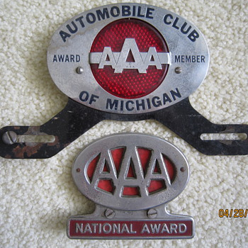 AAA Michigan License Plate Toppers National Award