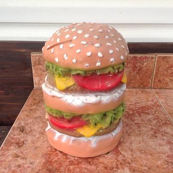A big beef burger